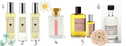 Spring MUST HAVE SCENTS!